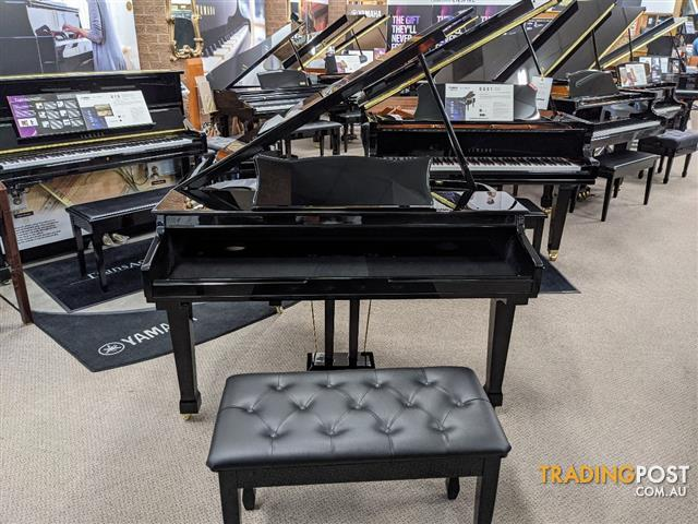 Digital Baby Grand Piano Case in Ebony Polished