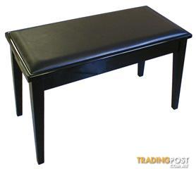 Yamaha No3PE Duet Piano Bench With Storage Polished Ebony