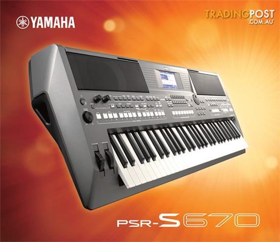 yamaha arranger workstations keyboard psr s670. Black Bedroom Furniture Sets. Home Design Ideas