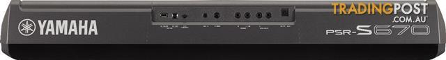 Yamaha Arranger Workstations Keyboard PSR S670