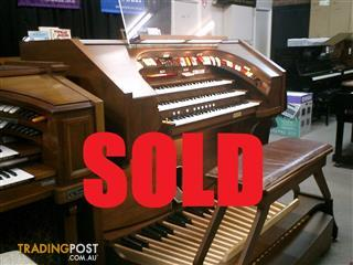 Rodgers Organ Marquee Model 327 Deluxe Theatre Organ NOW SOLD!