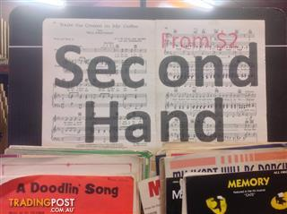 Second Hand Print Music