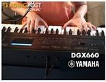 Yamaha Digital Piano DGX660 Portable Grand * Bonus LP7A Pedal Board Inc *