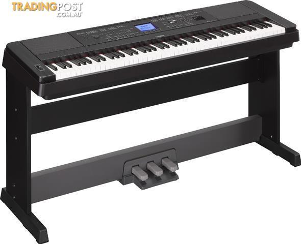 Yamaha Digital Piano DGX660 Portable Grand * Bonus LP7A Pedal Board Inc *