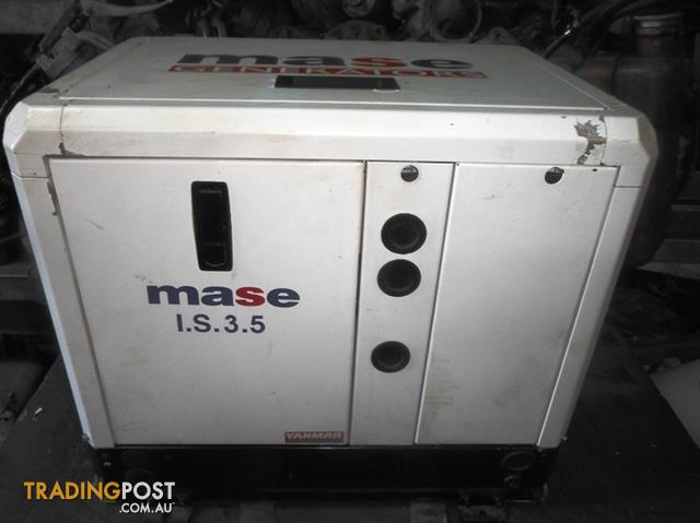 Generator mase is 35 diesel 61 hp for sale in newport nsw generator mase is 35 diesel 61 hp cheapraybanclubmaster Image collections