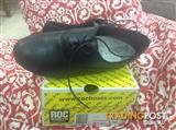 School shoes black leather New ROC size 7.5B RRP $89.95