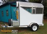 DOG GROOMING TRAILER FOR SALE HOOK UP AND GO TO WORK