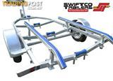 Swiftco 4 Metre Boat Trailer Skid Type.  Buy from $2.95 per day