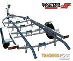 Swiftco 5.5 Metre Boat Trailer Skid Type.  Buy from $3.15 per day