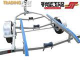 Swiftco 5 Metre Boat Trailer Skid Type. Buy from $3.63 per day