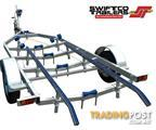 Swiftco 5.5 Metre Boat Trailer Skid Type.  Buy from $4.09 per day