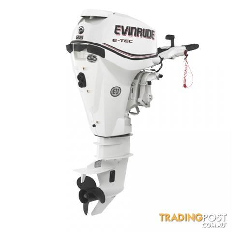 Evinrude E-tec 25hp Direct Injection Outboard
