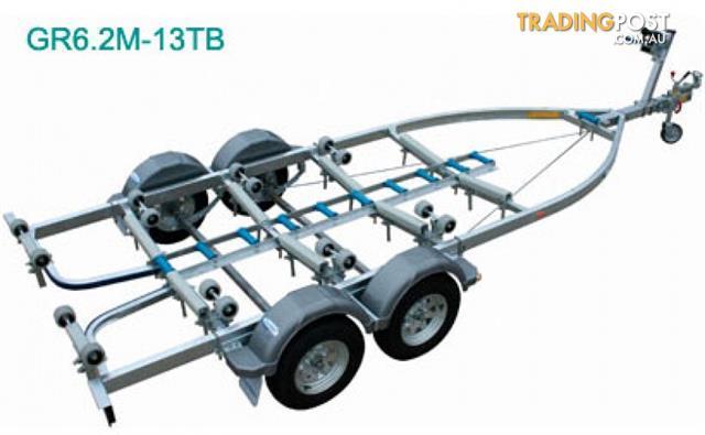 Dunbier 6.2m Tandem Glider Trailer