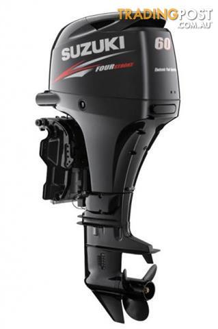 Suzuki 60hp 4-Stroke Light Weight Outboard