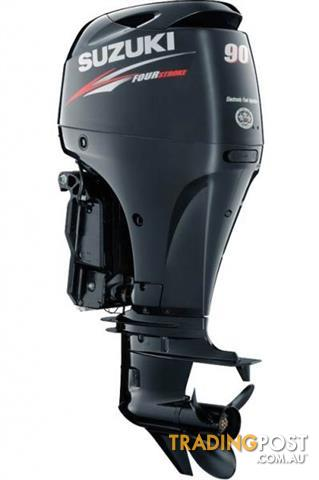 Suzuki 90hp 4 stroke light weight outboard for sale in for Lightweight outboard motors for sale
