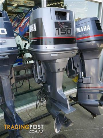 150hp yamaha outboard for sale in braeside vic 150hp for Yamaha marine dealer system