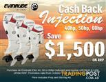 Evinrude E-tec 50hp Direct Injection Outboard