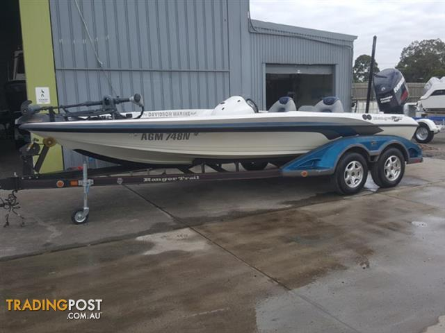 Ranger 20ft comanche bass fishing boat for sale in for Bass fishing boats for sale