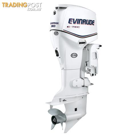 Evinrude E-tec 90hp Direct Injection Outboard