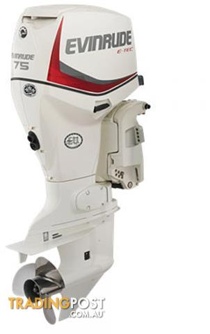 Evinrude Etec 75hp Direct Injection Outboard