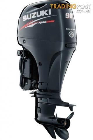Suzuki 90hp 4-stroke Light Weight Outboard
