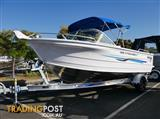QUINTREX 510 FISHABOUT DLX - RUNABOUT