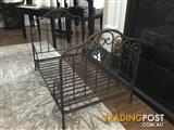 Amazing decorative iron dog pet or doll bed