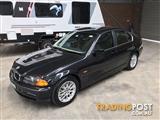 2001 BMW 3 25i E46 4D SEDAN