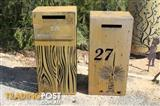 Custom Made Letterboxes and Facias