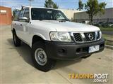2007 Nissan Patrol DX GU IV MY06 Wagon