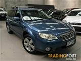 2008 Subaru Outback D/Range AWD B4A MY08 Wagon