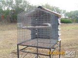Large exterior Parrot cage