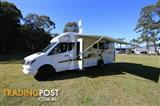 2017  JAYCO CONQUEST MOTORHOME MS.25-1.LR.16CQ CAB CHASSIS