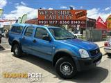 2005 Holden Rodeo LX Crew Cab RA MY05.5 Utility