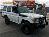 2010 Toyota Landcruiser Workmate (4x4) VDJ76R 09 Upgrade Wagon