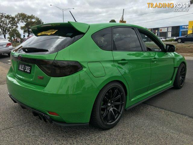 2009 subaru impreza wrx sti my08 hatchback for sale in hoppers crossing vic 2009 subaru. Black Bedroom Furniture Sets. Home Design Ideas