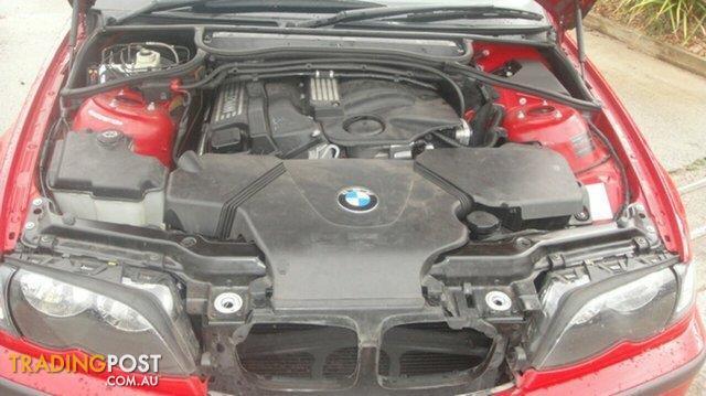 2004 BMW 318I Sport E46 MY2004 Sedan