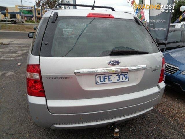 2006 Ford Territory Ghia (RWD) SY Wagon