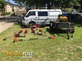MOWING & EQUIPMENT BUSINESS FOR SALE NTH EAST MELBOURNE