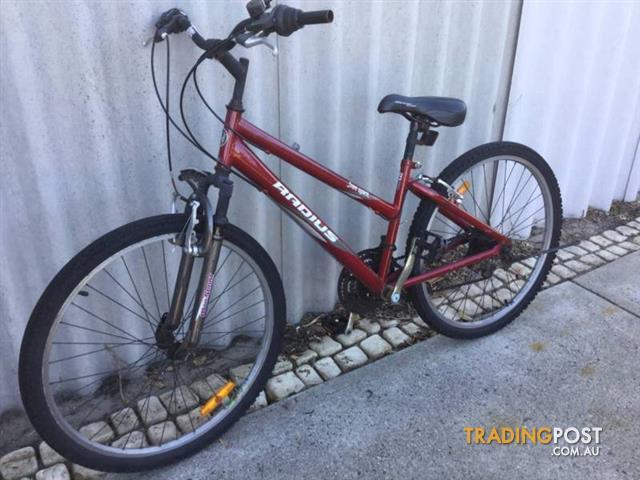 Mountain-bike-Radius-Free-spirit-15-Frame-26-wheels-21-Speed
