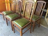 Vintage mid century Dining Chairs x 6