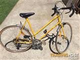 """Malvern Star Renegade Bike. 22"""" Frame 26"""" wheels Full mud guards."""