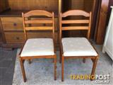 2 dining chairs 2 for $20