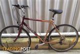 "Giant Option 4130 bike 22"" Frame Needs work. Chain is seized."