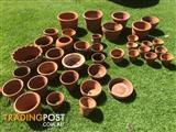 Terracotta plant pots 40