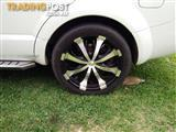 "20"" falken rims and tyres"
