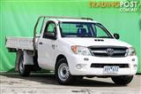 2007  Toyota Hilux SR KUN16R Cab Chassis