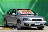 2001  Subaru Liberty RX B3 Sedan