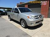2006 TOYOTA HILUX SR GGN15R X CAB P/UP