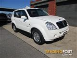 2009 SSANGYONG REXTON II RX270 Xdi (7 SEAT) Y200 MY08 4D WAGON